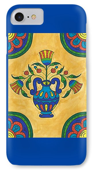 Talavera Flora 2 IPhone Case