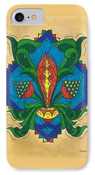 Talavera Flora Phone Case by Susie WEBER