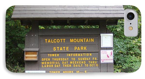 Talcott Mountain State Park IPhone Case