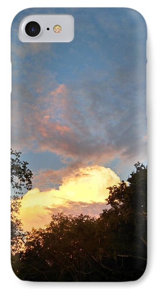 IPhone Case featuring the photograph Talking Clouds by Jean Marie Maggi