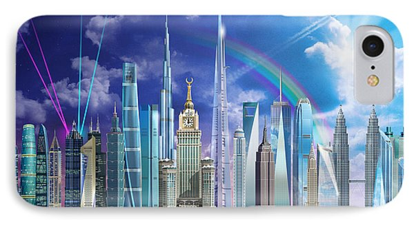 Tall Buildings IPhone Case by Garry Walton