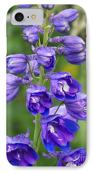 IPhone Case featuring the photograph Tall Garden Beauty by Eunice Miller
