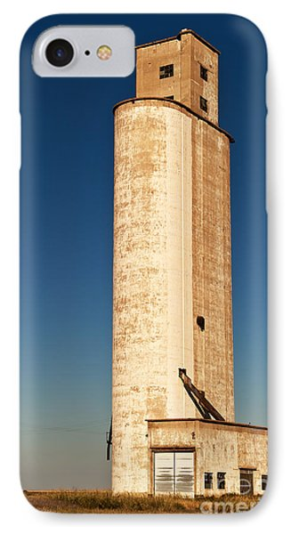 IPhone Case featuring the photograph Tall Grain Elevator by Sue Smith