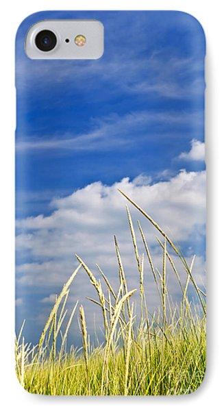Tall Grass On Sand Dunes Phone Case by Elena Elisseeva