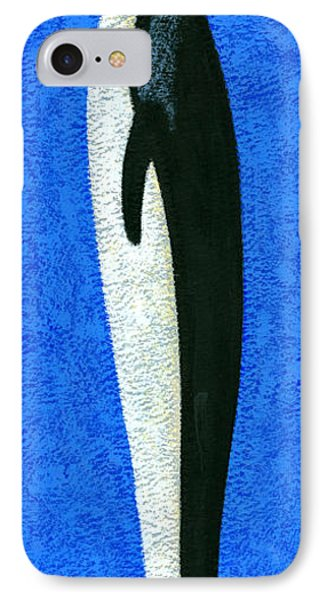 Tall Penguin IPhone Case by Brian James