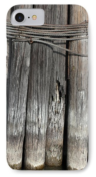 Tall Pilings 2 IPhone Case