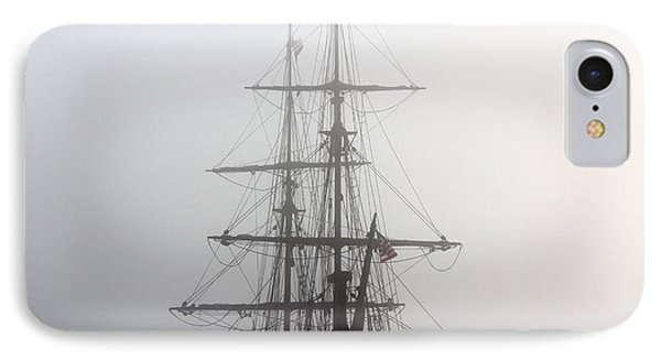 Tall Ship In The Fog IPhone Case