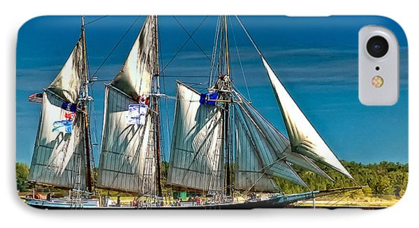 Tall Ship Phone Case by Steve Harrington