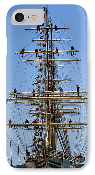 Tall Ships 2 IPhone Case by Andrew Fare