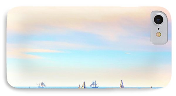 Tall Ships And Sail Boats IPhone Case