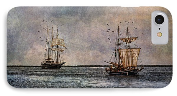 Tall Ships Phone Case by Dale Kincaid