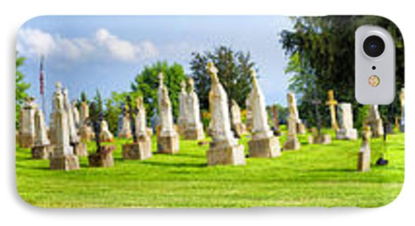 Tall Tombstones Panorama Phone Case by Thomas Woolworth