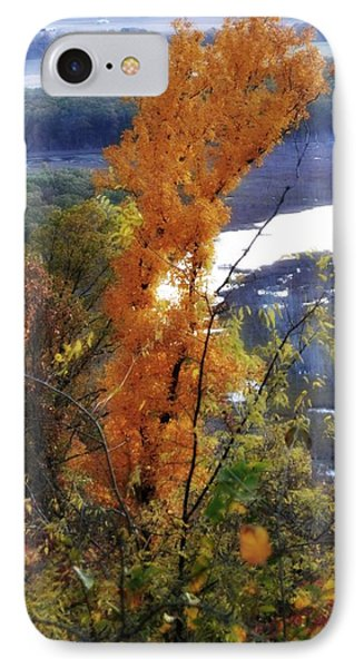 Tall Yellow Tree Phone Case by Marty Koch