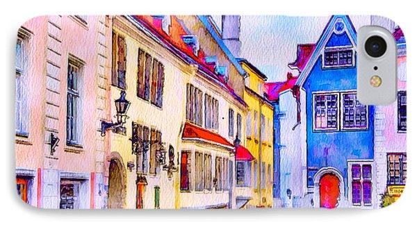 Tallinn Old Town IPhone Case