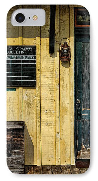 Tallulah Falls Rail Bulletin IPhone Case by Kenny Francis