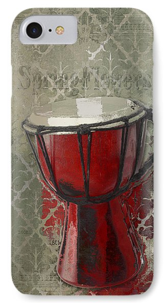 Tam Tam Djembe - 083134085 IPhone Case by Variance Collections