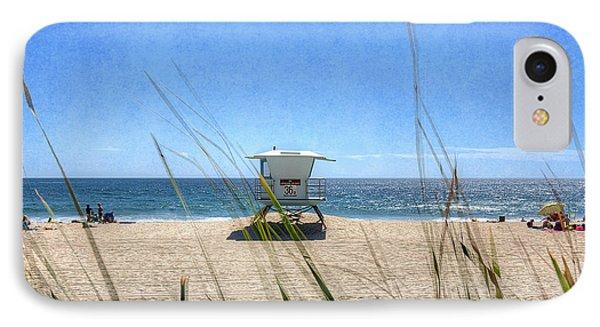 Tamarack Beach Phone Case by Ann Patterson