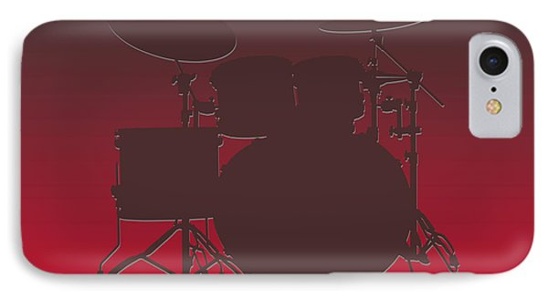 Tampa Bay Buccaneers Drum Set IPhone Case by Joe Hamilton