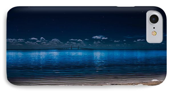 Tampa Bay Nights IPhone Case by Randy Sylvia