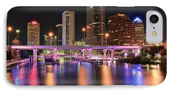 Tampa Lights IPhone Case by Frozen in Time Fine Art Photography