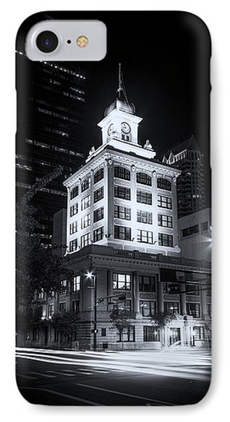 Tampa's Old City Hall IPhone Case by Marvin Spates