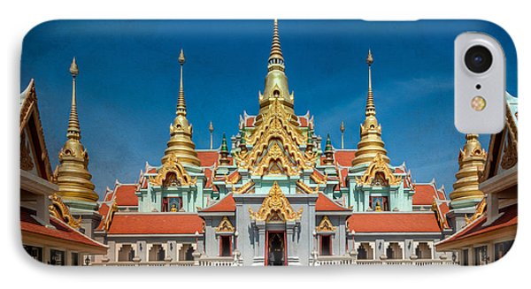 Tang Sai Temple IPhone Case by Adrian Evans