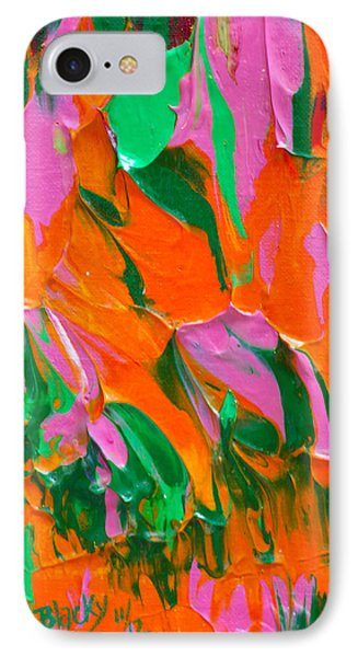 Tangerine And Lime Phone Case by Donna Blackhall