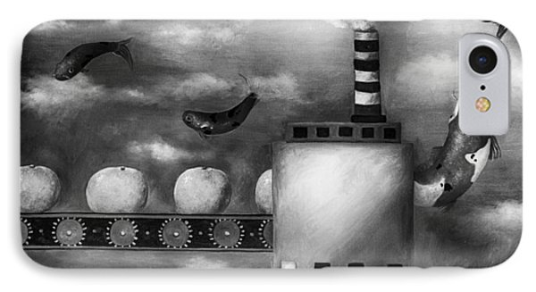 Tangerine Dream Edit 3 Phone Case by Leah Saulnier The Painting Maniac