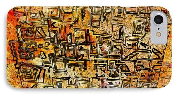 Tangerine Dream Phone Case by Jack Zulli