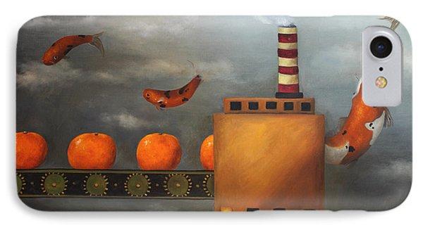 Tangerine Dream Phone Case by Leah Saulnier The Painting Maniac