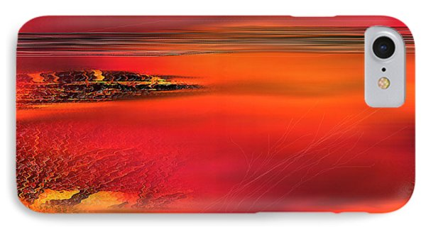 IPhone Case featuring the painting Tangerine Dream by Yul Olaivar