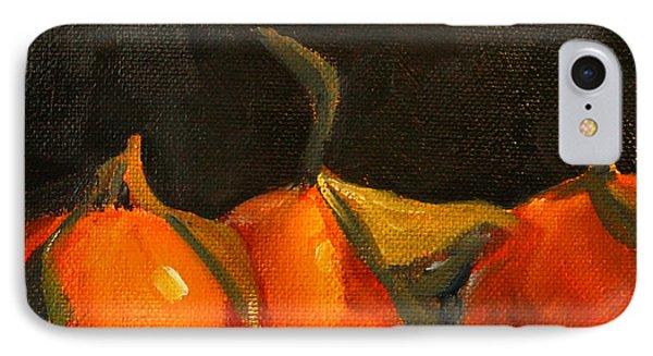 Tangerine Party IPhone Case by Nancy Merkle