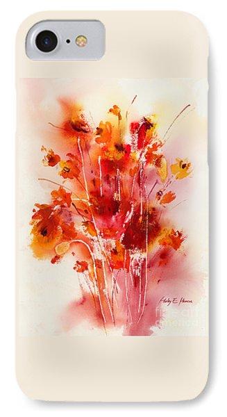 Tangerine Tango IPhone Case by Hailey E Herrera