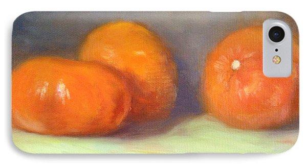 Tangerines Phone Case by Michele Tokach