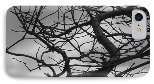 Tangled By The Wind IPhone Case