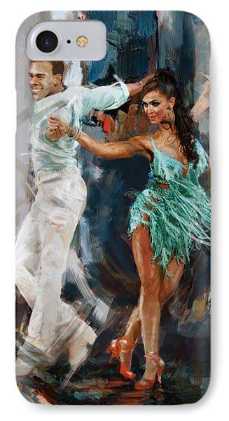 Tango 4 IPhone Case by Mahnoor Shah