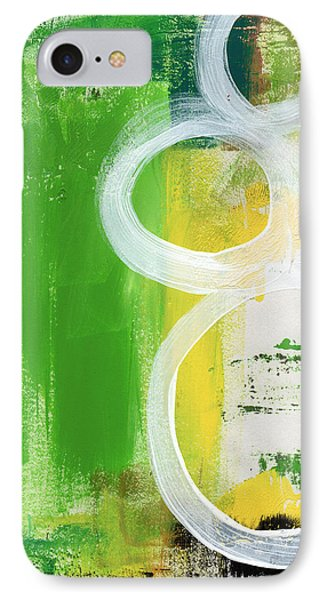 Tango- Abstract Painting IPhone Case by Linda Woods