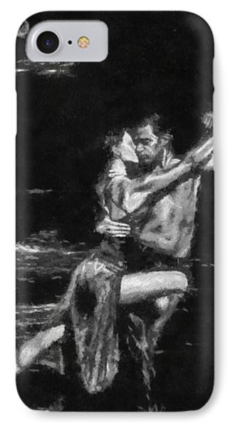 IPhone Case featuring the painting Tango At Midnight by Georgi Dimitrov