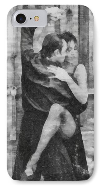Tango Phone Case by Ayse Deniz