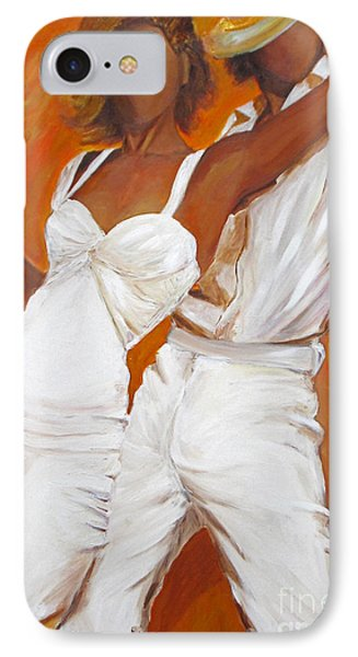 Tango Blanco IPhone Case by Sheri  Chakamian