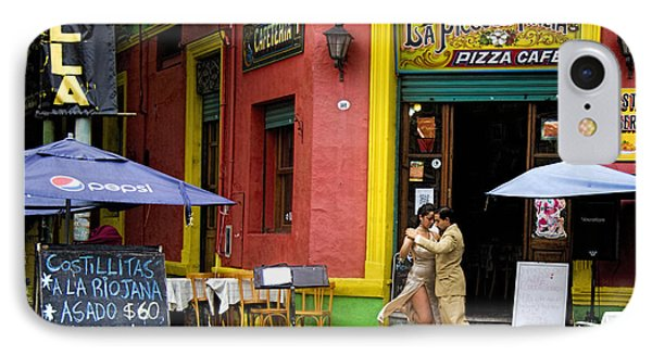Tango Dancing In La Boca IPhone Case