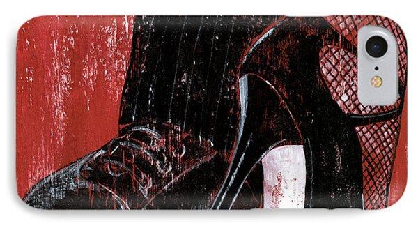 Tango Phone Case by Debbie DeWitt