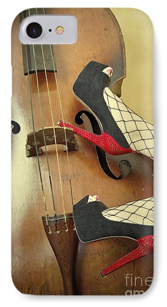 Tango For Strings IPhone Case by Evelina Kremsdorf