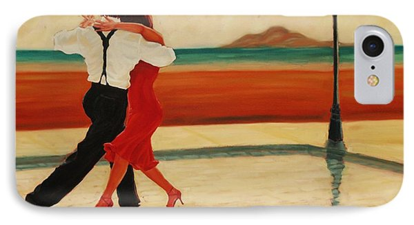 IPhone Case featuring the painting Tango Heat by Janet McDonald