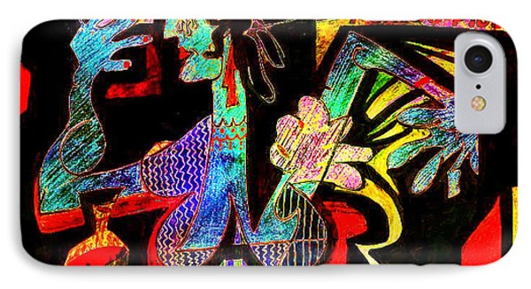 Tango Picasso-ii Phone Case by Dean Gleisberg