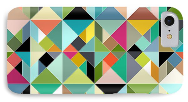 Tangram Geo Multi IPhone Case