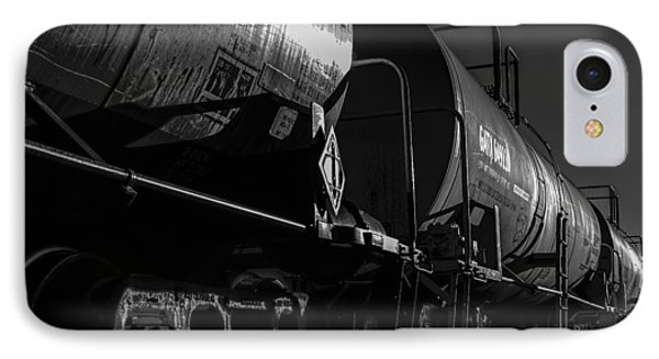 Tanker Cars Phone Case by Bob Orsillo