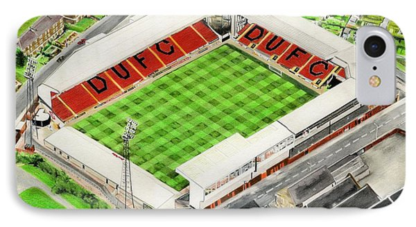 Tannadice Park - Dundee United Fc IPhone Case by Brian Casey