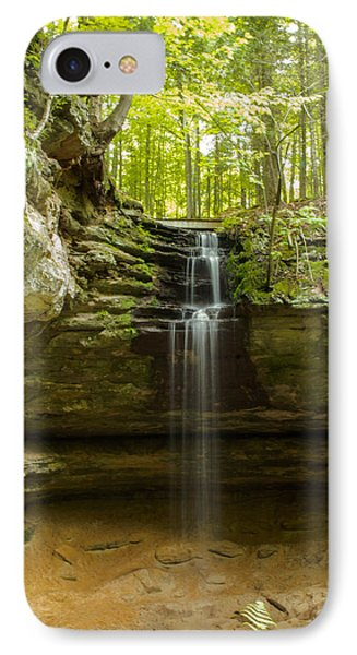 Tannery Falls IPhone Case by Jill Laudenslager