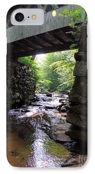 Tannery Hill Bridge IPhone Case by Mim White
